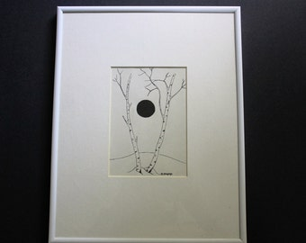 original pen & ink drawing