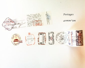 Postages Washi Tape - Limited Offer
