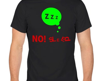 Men's T-Shirt. Cotton T-Shirt. Screen Printed Shirt. Black T-shirt.