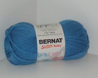 Bernat Softee Baby Yarn (Blue Jeans) 5oz/140g