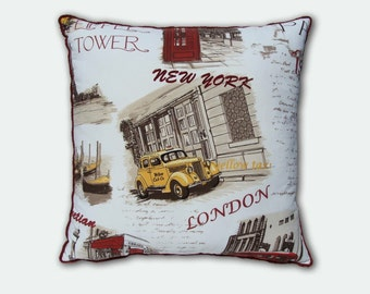Handmade Decorative Throw Pillow Cover