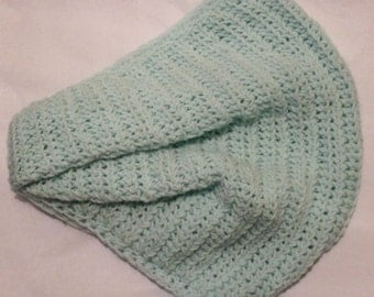 Knitted Neck Warmer-Green