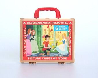 Eichborn fairy blocks box-Vintage toys-Retro puzzle