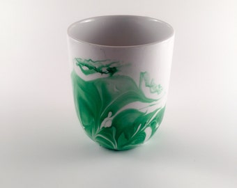 Green Marble Mug