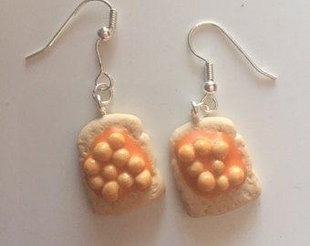 Beans on Toast Earrings