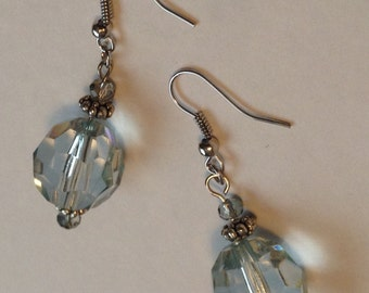 Pale Gem Earrings
