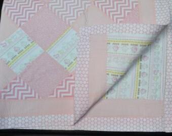Pink Sheep Quilt
