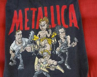 Metalica Band 1997 Tour Tee