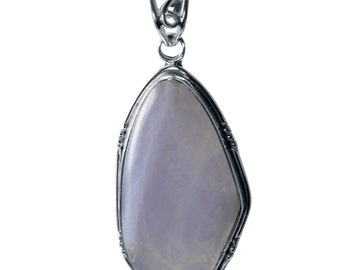 Blue Lace agate One of a Kind Pendant