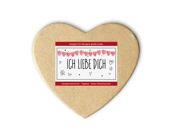 I love you box - also as a personal gift idea - seeds and seeds for the garden