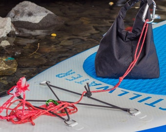 SUP travel anchor; perfect for SUP yoga or fishing