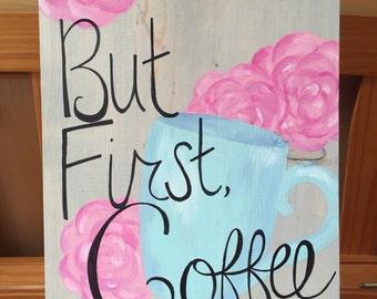 Coffee Plank