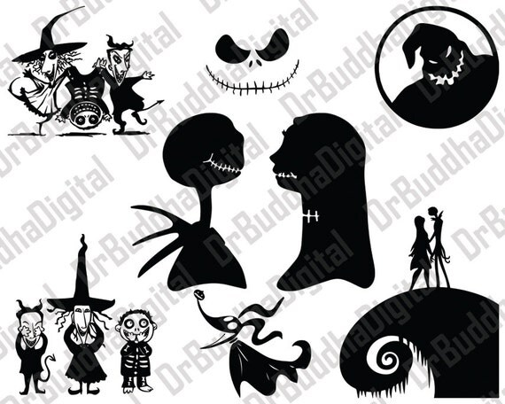 Sale Nightmare Before Christmas SVG Collection Nightmare