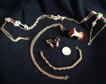 Vintage Fruit Jewelry