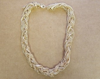 Braided Chain Choker