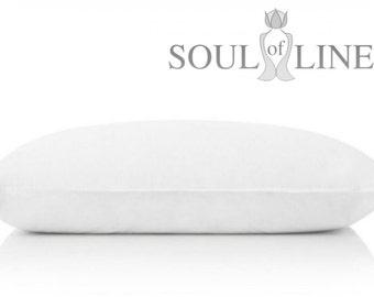 "Environmentally friendly, classic style 100% microfiber down pillow ""Julia"""