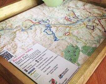 Patapsco Trail Map Tray