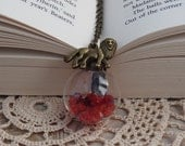 Gryffindor Crystal Dome Tribute Pendant