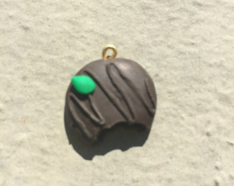 Polymer Clay Thin Mint Cookie