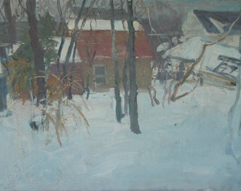 Dudley G. Summers=Snow Scene