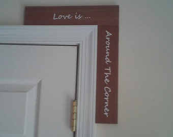 Handmade re-purposed or reclaimed wood signs made by humans
