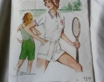 Vintage Kwik Sew Pattern 404 Ladies Shorts And Bermudas