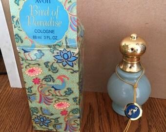 Vintage 1970 Avon Birds of Paradise Perfume  new in box