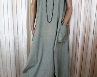 Clothing set, dress and blazer, layered look, handmade, one size
