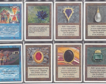 Set of Power Nine! Black Lotus, Ancestral Recall, Time Walk, Timetwister, Moxes