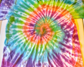 Adult Bright Rainbow Spiral