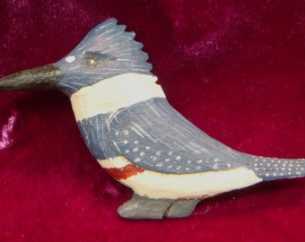 Red-belted Kingfisher Pin