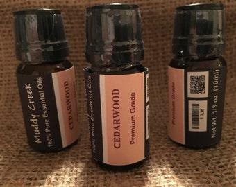 Cedarwood - 100%Pure Essential Oil