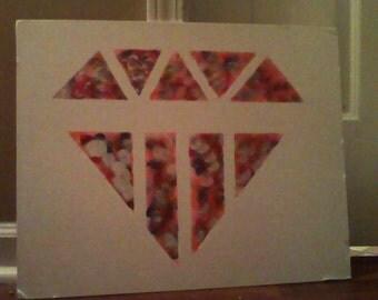 Bursting diamond