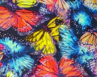 Butterfly Jersey Knit Fabric