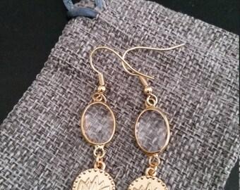 Stunning Lotus Earrings