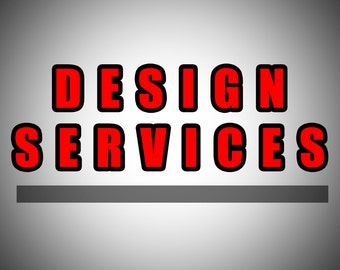 Design Service Add-On for Item purchased from our store only.
