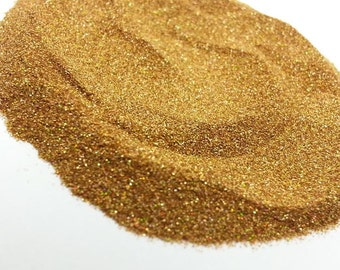 Ultra Fine .004 Gold Holographic Glitter - Solvent Resistant - .1mm