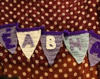 Crochet Bunting Medium