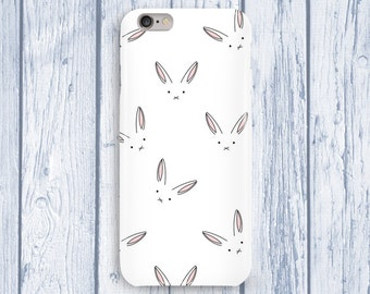 Rabbits Phone Case Hipstar iPhone 6s Case iPhone 6 Case Funny iPhone SE Case Animal iPhone 5s Case Galaxy S6 Case Samsung Case s7 Case Cover