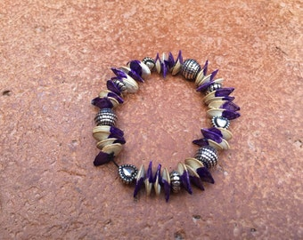 Hand made seed bracelet