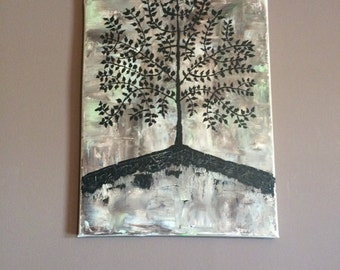 Small tree of life painting