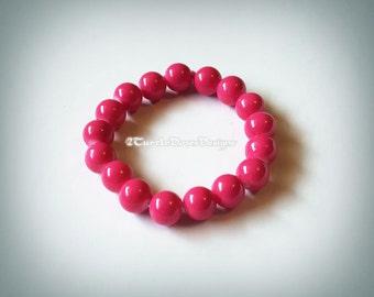 Bubble Gum Pink Bracelet