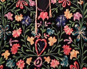 Hand embroidered Bedouin Dress