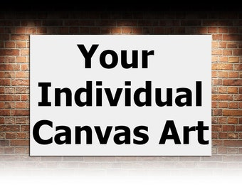 Your Individual Canvas Art Custom Images Multi Panel Set Custom Poster Wall Decor Canvas Art Wall Art Prints Wall Art Set Art Canvas Gift