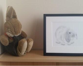 Bunny design 4 for Nursery or home