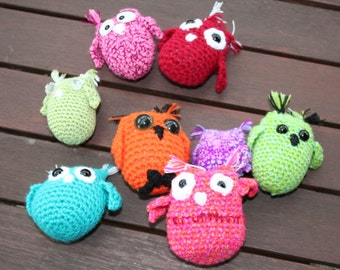 per 3 tiny little crochet OWL for the price of one