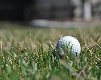 5x7 Photo - Golf Ball