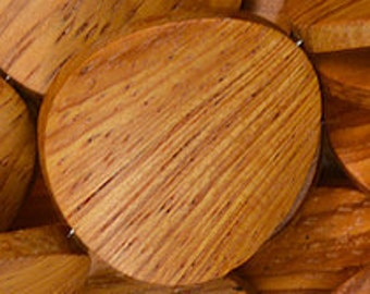 Bayong Wood Twisted Coin