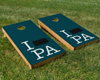 Philadelphia Eagles Pride Cornhole Board Set