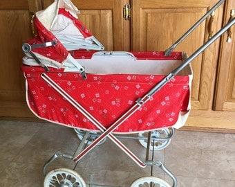 Vintage Childs Baby Stroller